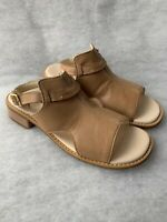 Girls Clarks Sandals Darcy Lily Tan Leather Size 2.5F Sale Price