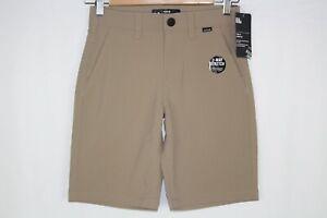 Hurley Boys' Dri FIT Chino Walk Shorts Khaki 981307 X1T