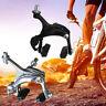 Bicycle Road MTB Bike Rear U Shape Brake Metal+Rubber Safety Bike Rear Brake Set