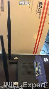 2 9dBi 7dBi RP-TNC WiFi Antenna Linksys WRT54G-TM WRT54GS WRT54G WAP54G WRT54GL
