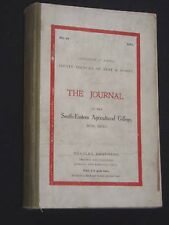 Journal of the SE Agricultural College-Wye, Kent-1912, Farming/Farm Reference