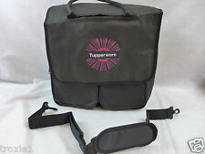 Tupperware Consultant  Award Demo Logo Kit Bag Large Duffle Black & Pink New