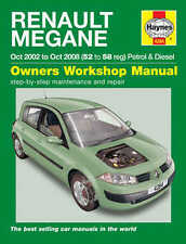 Renault Megane Repair Manual Haynes Workshop Service Manual  2002-2008 4284