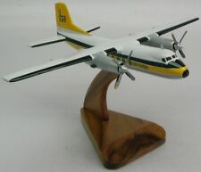 Handley Page HPR-7 Brymon Air Airplane Desktop Kiln Dry Wood Model Regular New