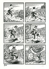 JIM WOODRING Congress Of The Animals p69 ORIGINAL COMIC ART