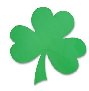 100 SHAMROCK CLOVER IRISH CAR MAGNET - wholesale lot