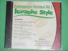 Contemporary Christmas~#2~Daywind~Karaoke Style ~ Grown-up Christmas List ~ CD+G
