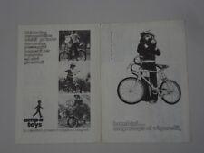 advertising Pubblicità 1974 BICICLETTA AMPA TOYS