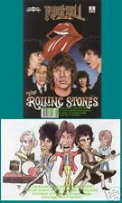 Rolling Stones Mick Jagger Keith Richard Rock Comic NM
