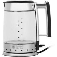Russell Hobbs 20780 Glass Line Kettle 3kW Rapid Boil 1.7L Glass Kettle Brand New