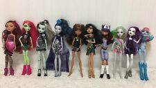 Monster High Doll Lot Of 10 + Clothing Shoes Frankie Stein? Basic Accessories