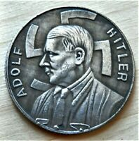 WW2 GERMAN COMMEMORATIVE COLLECTORS COIN 1 REICHSMARK