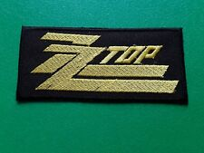ZZ Top Music Embroidered Iron On Sew On Brand New Music Patch Clothes #552-R