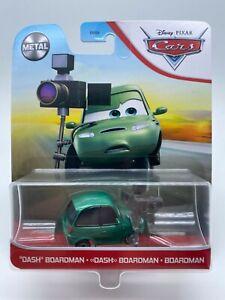 "Disney Pixar Cars Diecast 2021 Metal Dash Boardman ""VHTF"""