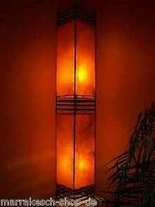 2. Wahl Afrikanische Marokkanische Hennalampe Stehleuchte Stehlampe Lederlampe