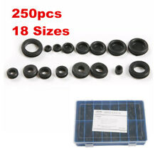 250Pcs Rubber Grommet Set Electrical Assortment Gasket Wire Efficient Kit Wiring