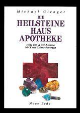 """Buch """"Die Heilsteine Haus Apotheke"""" von Michael Gienger A bis Z Heilkunde Heilen"""