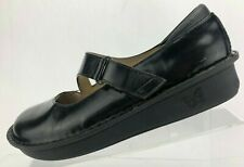 Alegria Jill Mary Jane Clogs Black Leather Pg Lite Comfort Shoes Womens 39 US 9