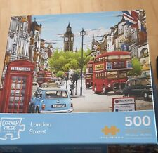 London Street - 500 Piece Complete Jigsaw Puzzle*