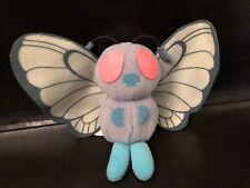 Butterfree Poke Plush RARE 1998 Hasbro Pokemon Indigo Vintage Beanie Doll Figure