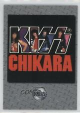 1998 Cornerstone KISS Series 2 Silver 156 Scarcities Chikara Non-Sports Card 0f8