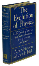 The Evolution of Physics ~ ALBERT EINSTEIN ~ First Edition ~ 1st Printing ~ 1938