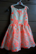 9 yrs NEXT Signature Skater Prom Party Embroidered Dress IMMACULATE