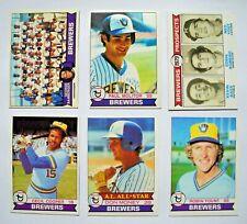 1979 Topps Milwaukee Brewers Team Set (27 Cards)