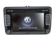 VW Autoradio RCD510 RDS 6CD MP3 SD AUX für Caddy POLO GOLF Passat Tiguan CC EOS
