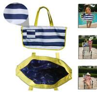 Worlds 1st Tote Beach Bag that easily slips over the back of most Beach Chairs!