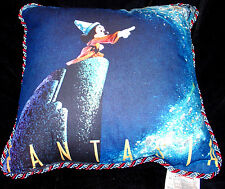 "DISNEY POSTER ART PILLOW ""FANTASIA"" A CLASSIC FILM POSTER SCENE-MAGICAL-RETIRED!"