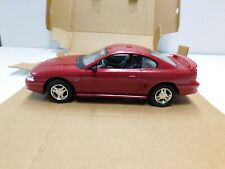 1994 FORD MUSTANG GT PROMO MODEL 1.24 SCALE IN LASER RED