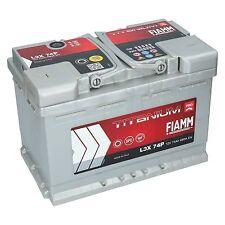 Autobatterie 12V 74Ah 680A EN +Pol LINKS FIAMM PRO Batterie ersetzt 70 75 77 Ah