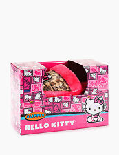 Hello Kitty Boxed Leopard Youth Slippers Size 5/6 Size 5 6