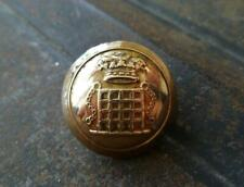 ANTIQUE HUNT BUTTON:  THE DUKE OF BEAUFORT'S HUNT:  HUNT SERVANT'S BUTTON