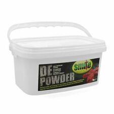 Smite Organic Red Mite Lice Louse Flea Tick Drying DE Powder Diatomace Earth 1kg