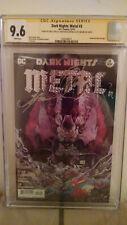 Dark Nights Metal #3 CGC 9.6 SIGNED by SNYDER, CAPULLO & GLAPION