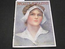 1916 NOVEMBER MCCALL'S MAGAZINE - FASHION ILLUSTRATIONS - CUT OUT PAGE - ST 143