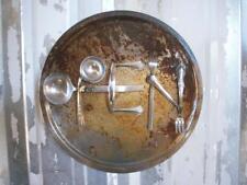 """OPEN"" Sign - Rustic Metal Art Sign - Wall Hanging  Metal Primitive"