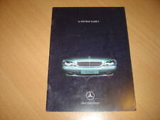 CATALOGUE Mercedes Classe S de 1998