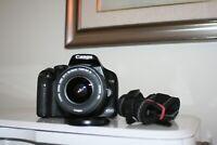 Fotocamera Canon EOS 450D reflex digitale + obiettivo 18-55 + scheda sd 16gb