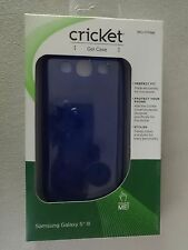 Cricket Samsung Galaxy S III Gel Case Blue SKU CTP886 Brand New