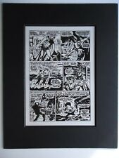 LAST ISSUE OF TALES TO ASTONISH # 100 SEVERIN & AYERS Pg 2 MARVEL PRODUCTION ART