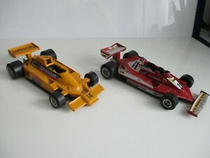 Polistil  1.32 scale  x  2  F1  Racing  Cars