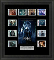 Harry Potter and the Deathly Hallows Part 2 Framed 35mm Film Cell Memorabilia v3