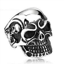 Stainless steel Skull ring, Edelstahl Skull Ring