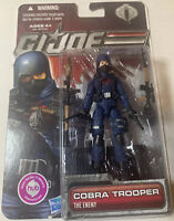 "Cobra Trooper Action Figure G.I. Joe 30th 2011 Hasbro 3 3/4"" 1:18th Scale Enemy"
