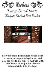 Freeze Dried Food - Mesquite Smoked Beef Brisket (cooked)- Camping - Survival