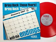 the ENDINGS Bring Back Those Years LP Red Vinyl NEAR-MINT modern Acappella  Fm58