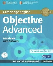 Buy english language advanced proficiency study books ebay objective advanced workbook with answers with audio cd by felicity odell annie broadhead fandeluxe Images